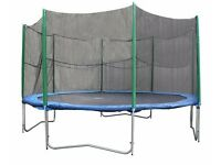 REDUCED - Safety enclosure for trampoline