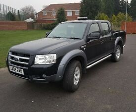 FORD RANGER 4x4 2.5 TDCI DOUBLE CAB 2009