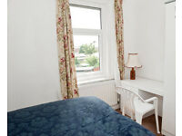 Short Term Accommodation - £75 per week or £240 per month, single and double rooms - couples welcome