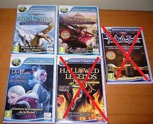 PC Jeux d'aventure Big Fish 15$ à 17$ ch
