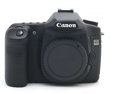 Canon EOS 50D 15.1 MP DSLR Camera Body - Black