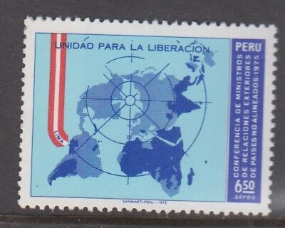 Peru 1975 Conference of Non Aligned Countries  MNH