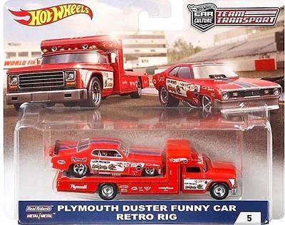 Hot Wheels Plymouth Duster Funny Car Snake Mongoose FLF56 956B 1/64