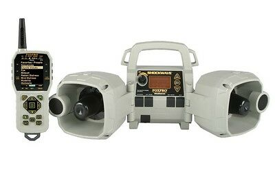 Foxpro Shockwave Predator Coyote Game Call W/remote 1000 Sound