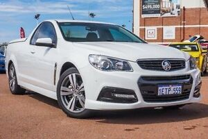 2015 Holden Ute VF MY15 SV6 Ute White 6 Speed Sports Automatic Utility Fremantle Fremantle Area Preview