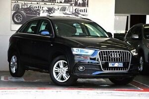 2012 Audi Q3 8U MY12 TDI S tronic quattro Black 7 Speed Sports Automatic Dual Clutch Wagon Doncaster Manningham Area Preview