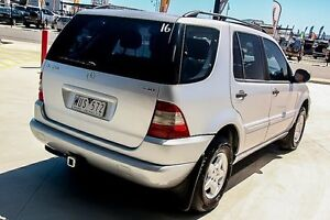 2000 Mercedes-Benz ML270 CDI W163 Luxury Silver 5 Speed Sports Automatic Wagon Pakenham Cardinia Area Preview