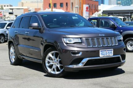 2014 Jeep Grand Cherokee WK MY2014 Summit Granite Crystal 8 Speed Sports Automatic Wagon