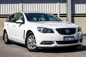 2016 Holden Commodore VF II Evoke White 6 Speed Automatic Sportswagon Cannington Canning Area Preview