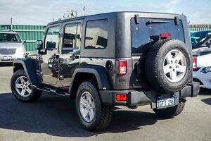 2015 Jeep Wrangler JK MY2015 Unlimited Sport Grey 6 Speed Manual Softtop Osborne Park Stirling Area Preview