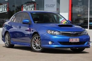 2010 Subaru Impreza G3 MY10 WRX Club Spec 10 AWD Blue 5 Speed Manual Sedan Kippa-ring Redcliffe Area Preview