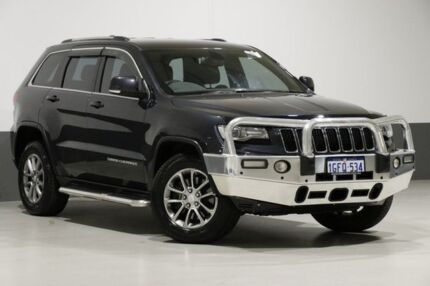 2014 Jeep Grand Cherokee WK MY14 Laredo (4x2) Steel Blue 8 Speed Automatic Wagon Bentley Canning Area Preview