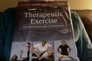 Therapeutic Exercise 6th ed.Kismer & Colby, NEW Kitchener / Waterloo Kitchener Area image 1