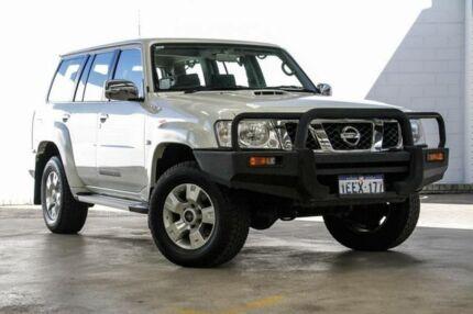 2013 Nissan Patrol GU Viii ST (4x4) White 4 Speed Automatic Wagon