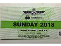 Goodwood Festival of Speed Sunday ticket SOLD