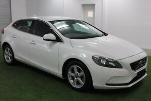 2015 Volvo V40 M Series MY15 D2 PwrShift Kinetic White 6 Speed Sports Automatic Dual Clutch Moonah Glenorchy Area Preview