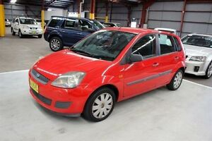 2005 Ford Fiesta WP LX Red 5 Speed Manual Hatchback Maryville Newcastle Area Preview