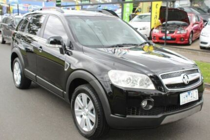 2007 Holden Captiva CG LX AWD Black 5 Speed Sports Automatic Wagon West Footscray Maribyrnong Area Preview