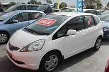 2009 Honda Jazz GE MY10 VTi White Automatic Hatchback South Maitland Maitland Area Preview