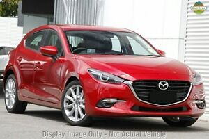 2016 Mazda 3 BN MY17 SP25 GT Soul Red 6 Speed Automatic Hatchback Gymea Sutherland Area Preview