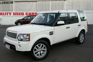 2010 Land Rover Discovery 4 Series 4 10MY TdV6 CommandShift White 6 Speed Sports Automatic Wagon Woodridge Logan Area Preview