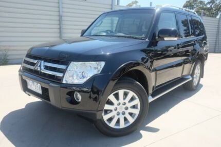 2007 Mitsubishi Pajero NS Exceed Black 5 Speed Sports Automatic Wagon Dandenong Greater Dandenong Preview