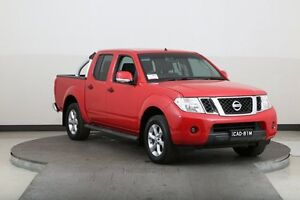 2013 Nissan Navara D40 MY12 ST (4x4) Red 5 Speed Automatic Dual Cab Pick-up Smithfield Parramatta Area Preview