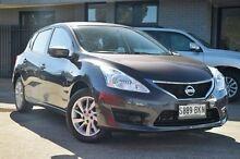 2014 Nissan Pulsar C12 ST Grey 1 Speed Constant Variable Hatchback Hillcrest Port Adelaide Area Preview