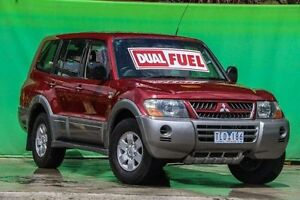 2004 Mitsubishi Pajero NP MY04 GLS Burgundy 5 Speed Sports Automatic Wagon Ringwood East Maroondah Area Preview
