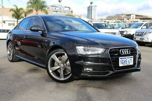 2014 Audi A4 B8 8K MY14 S Line S tronic quattro Phantom Black 7 Speed Sports Automatic Dual Clutch Northbridge Perth City Area Preview