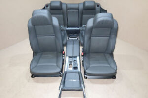 BMW E71 BLACK LEATHER SEATS MINT X6 FRONT AND REAR