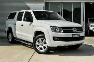 2016 Volkswagen Amarok 2H MY16 TDI420 Core White Automatic Utility Mitchell Park Ballarat City Preview