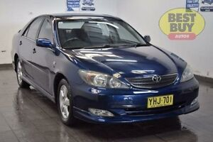 2002 Toyota Camry MCV36R Sportivo Blue 4 Speed Automatic Sedan Cabramatta Fairfield Area Preview
