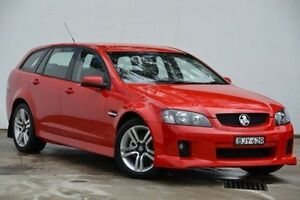 2009 Holden Commodore VE MY09.5 SV6 Sportwagon Red 5 Speed Sports Automatic Wagon Blacktown Blacktown Area Preview