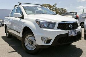 2012 Ssangyong Actyon Sports White Sports Automatic Utility Dandenong Greater Dandenong Preview
