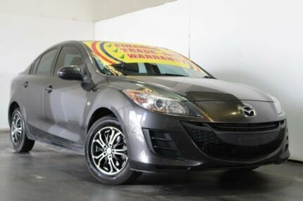 2010 Mazda 3 BL 10 Upgrade Neo Grey 6 Speed Manual Sedan Underwood Logan Area Preview