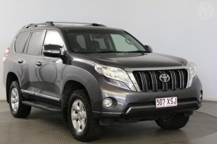2014 Toyota Landcruiser Prado KDJ150R MY14 Altitude (4x4) Graphite 5 Speed Sequential Auto Wagon