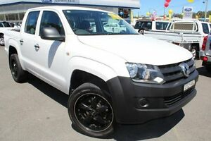 2012 Volkswagen Amarok 2H MY12.5 TDI340 Candy White 6 Speed Manual Utility Glendale Lake Macquarie Area Preview