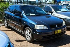2002 Holden Astra TS CD Blue 4 Speed Automatic Sedan Colyton Penrith Area Preview