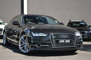 2015 Audi A7 4G MY16 S Line Sportback S tronic quattro Black 7 Speed Sports Automatic Dual Clutch Burwood Whitehorse Area Preview