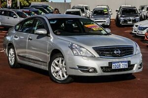 2011 Nissan Maxima J32 250 X-tronic ST-L Silver 6 Speed Constant Variable Sedan Cannington Canning Area Preview