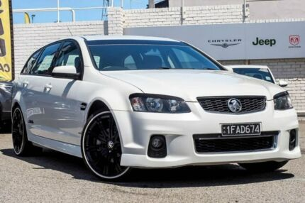 2012 Holden Commodore VE II MY12 SS Sportwagon White 6 Speed Sports Automatic Wagon Myaree Melville Area Preview
