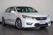 2013 Honda Accord 8th Gen MY12 V6 Luxury White 5 Speed Sports Automatic Sedan Victoria Park Victoria Park Area Preview