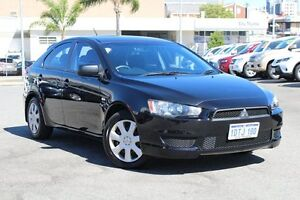 2011 Mitsubishi Lancer CJ MY11 ES Sportback Black 6 Speed Constant Variable Hatchback Northbridge Perth City Area Preview