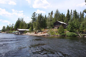 Main Lodge Plus Seven Cabins All On A Two Acre Island