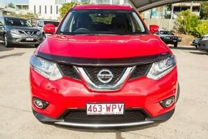 2014 Nissan X-Trail T32 Ti X-tronic 4WD Red 7 Speed Constant Variable Wagon Mount Gravatt Brisbane South East Preview