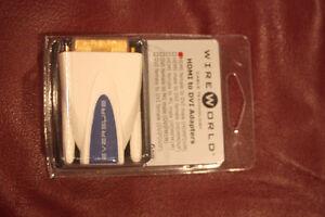 WireWorld HDMI female to DVI male Adapter