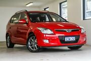 2012 Hyundai i30 FD MY11 SLX cw Wagon Red 4 Speed Automatic Wagon Melville Melville Area Preview