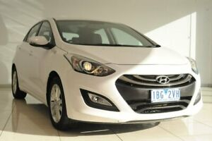 2014 Hyundai i30 GD2 MY14 Trophy White 6 Speed Sports Automatic Hatchback Strathmore Heights Moonee Valley Preview