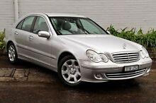 2004 Mercedes-Benz C200 Kompressor  Silver Sports Automatic Sedan Burwood Whitehorse Area Preview